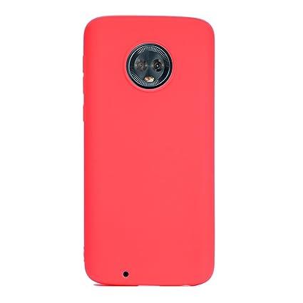 Funda Motorola Moto G6 Plus Silicona Carcasa Suave Flexible ...