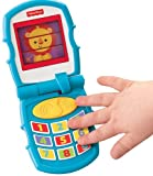 Fisher Price Peek-a-Boo Friends Friendly Flip Phone, Multi Color