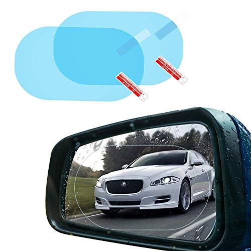 Espejo Retrovisor Protector Pantalla, Car Rearview Mirror Film, impermeable Suave Film Protectora [anti-arañazos,...