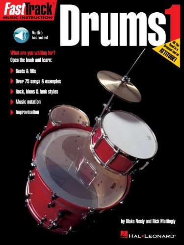 (FastTrack Drums Method - Book 1)