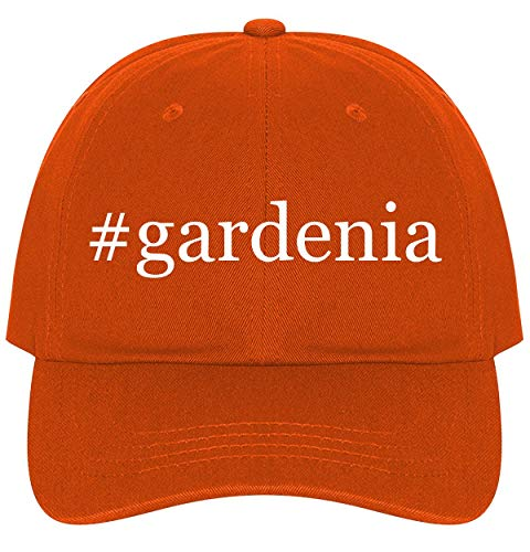 #Gardenia - A Nice Comfortable Adjustable Hashtag Dad Hat Cap, Orange, One Size