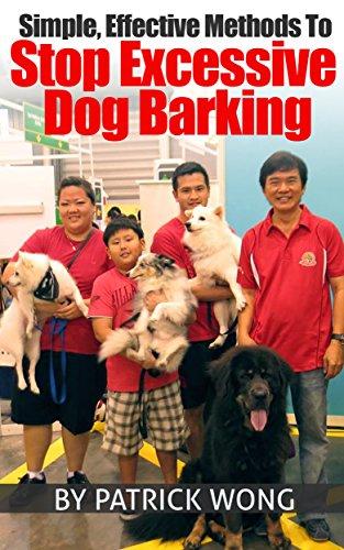Simple, Effective Methods To Stop Excessive Dog Barking