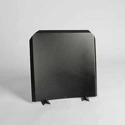 Amazon Com Stainless Steel Firebacks Painted Black 20 X 20