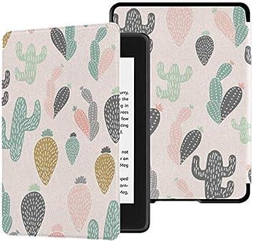 Kindle Paperwhite Ereader Case Summer Tropical Cactus Plant Kindle ...