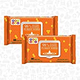Bey Bee - Hypoallergenic Baby Water Wipes for New Born Babies sensitive skin (2 Pack 160 Water wet wipes baby combo offers)
