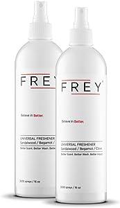 FREY Universal Freshener - Pack of 2 Natural Air Freshener Sprays… (Sandalwood Sweet Fragrance)