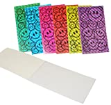 Fun Express Smile Face Laser Notepads - 72 Pieces