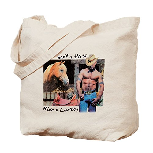 Royal Lion Tote Bag Country Western Cowgirl Save A (Save A Horse Ride A Cowboy Costume)