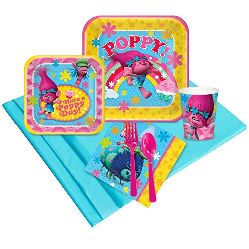 BirthdayExpress DreamWorks Trolls Party Supplies - Party Pack 16]()