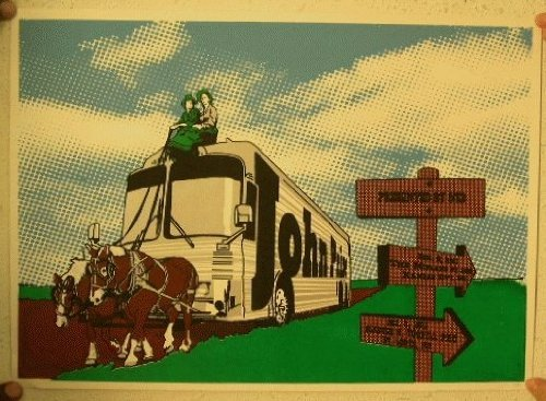 - John Prine Silkscreen Poster Signed and Numbered