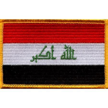 Iraq Flag Patch (Iraq Patch)