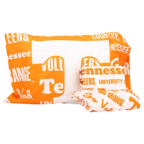 The Northwest Company NCAA Anthem Twin Pillowcase and Sheet Set (Tennessee Volunteers) ()