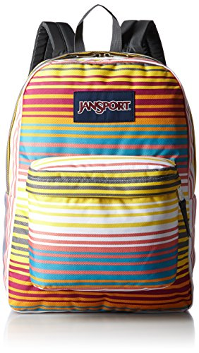 JanSport Classic SuperBreak Backpack, Multi Sunset Stripe by JanSport (Image #1)