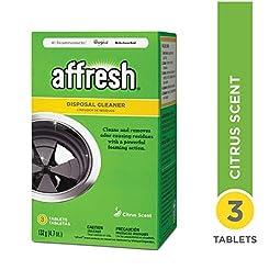 Affresh W10509526 Disposal Cleaner, 3 Pi...
