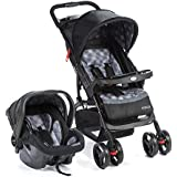 Travel System Moove Cosco - Cinza Trama