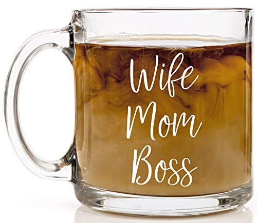 Wife. Mom. Boss. Coffee Cup