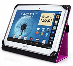 Emerson EM756 7 Inch Tablet Case, UniGrip Edition - By Cush Cases (Hot Pink)