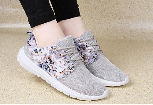 Zapatos Summer corrientes Viaje Estudiante Comfort Zapatos Malla Piso Para Casual Ocio SHINIK de mujerTulle Segundo de Transpirable Femeninos Sneakers Piso Zapatos 7txfAqwa