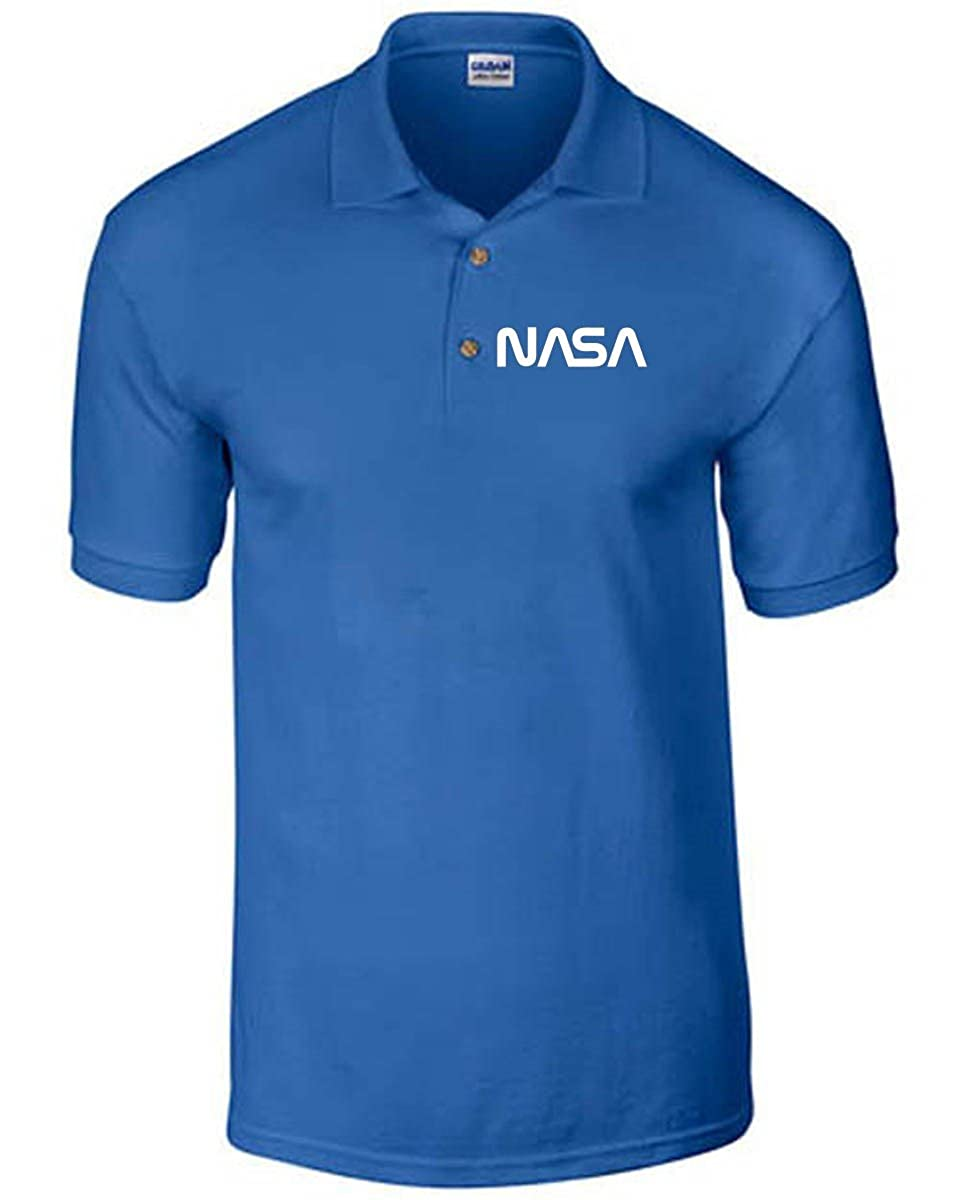 T-Shirtshock - Polo FUN0083 04 13 2013 NASA T Shirt det TSS_POLO_FUN0083