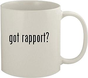 got rapport? - 11oz White Coffee Mug