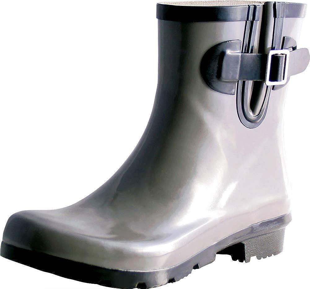 TWO Nomad Women's Dew Waterproof Rubber Ankle Rain Boot