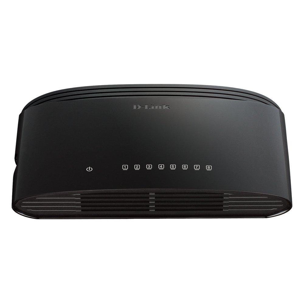 D-Link 8-Port Gigabit Desktop Switch (DGS-1008G) by D-Link