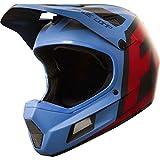 Fox Head Rampage Comp Adult Bike MX Full Face Helmet (Creo Blue/Red, L)
