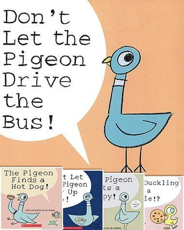 Pigeon Pack (5 Book Set) (The Duckling Gets a Cookie!?; The Pigeon Finds a Hot Dog!; Don't Let Pigeon the Stay Up Late!; The Pigeon Wants a Puppy!; Don't Let the Pigeon Drive the Bus!) (The Pigeon Wants A Hot Dog compare prices)
