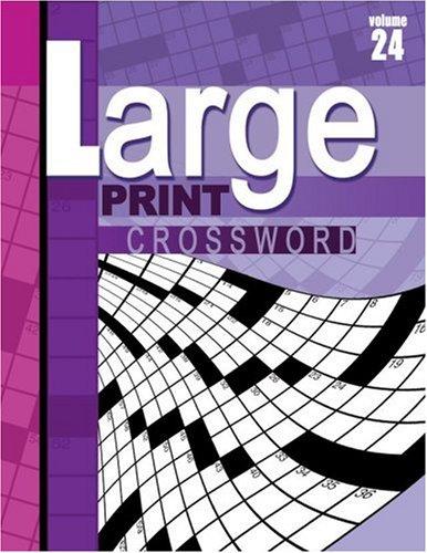 Download Large Print Crossword Puzzle Book pdf