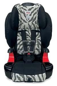 Britax Frontier 90 Booster Car Seat, Zebra (Older Version)