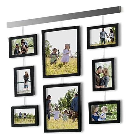 amazon com beyond words hanging gallery 9 piece box frame set