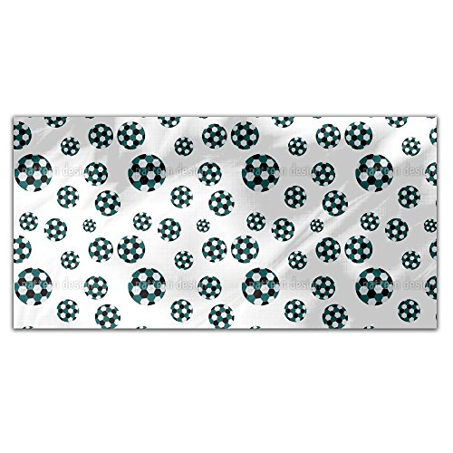 Soccer Rectangle Tablecloth: Medium by uneekee