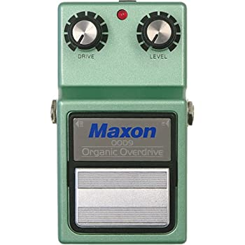 Maxon OOD-9 Organic Overdrive Guitar Effects Pedal