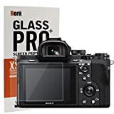 Sony A7R II & A7S II & A7 II & A7 Mark II Tempered Glass, Screen Protector, Rerii 9H Hardness, 0.3mm Thickness, Crystal Clear, Real Glass Screen Protector
