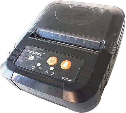 Impresora de recibos térmicos portátil y móvil mini impresora ...
