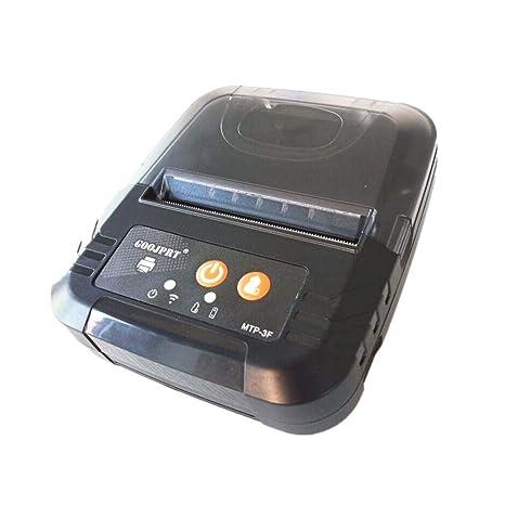Impresora de recibos térmicos portátil y móvil mini impresora inalámbrica Bluetooth para sistemas iOS y Android
