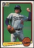 Fernando Valenzuela 1983 Donruss #284 Dodgers Baseball Card