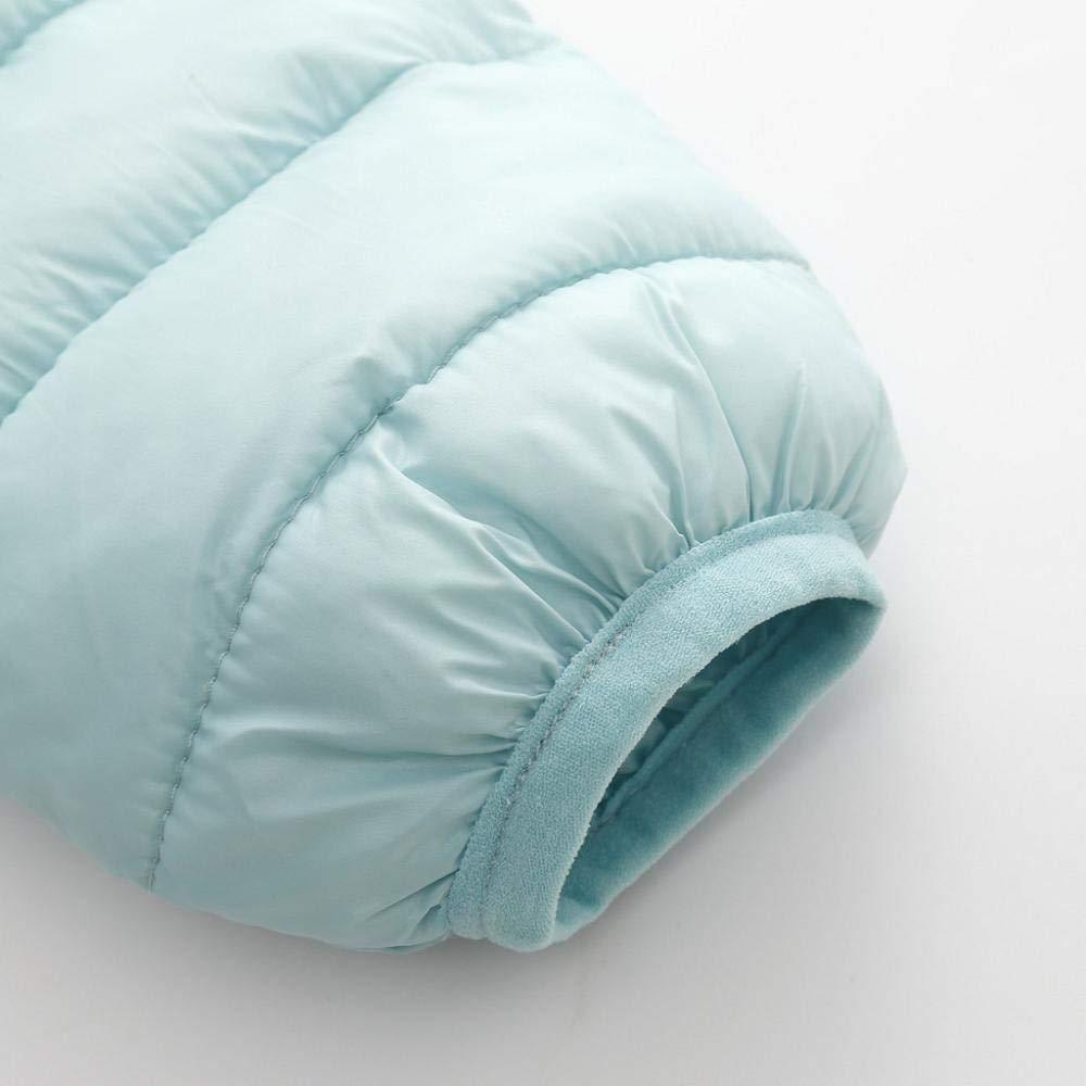 Kololy 0-4 Anni Unisex Cappotto Parka Zipper Invernale Giacche a Vento Cappotto di Inverno della Giubbotto Giacca Piumino con Cappuccio Cappotti Bambino