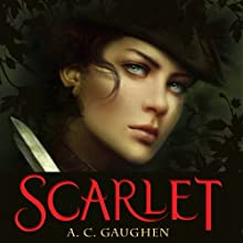 Scarlet Audiobook by A. C. Gaughen Narrated by Helen Stern