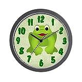 Cheap CafePress – Frog Wall Clock – Unique Decorative 10″ Wall Clock