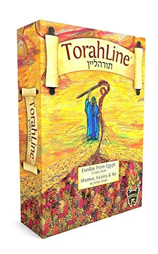 TorahLine Game - Passover Exodus from Egypt Toy (English/Hebrew 2nd Ed.) [並行輸入品] B07SFDYQPN