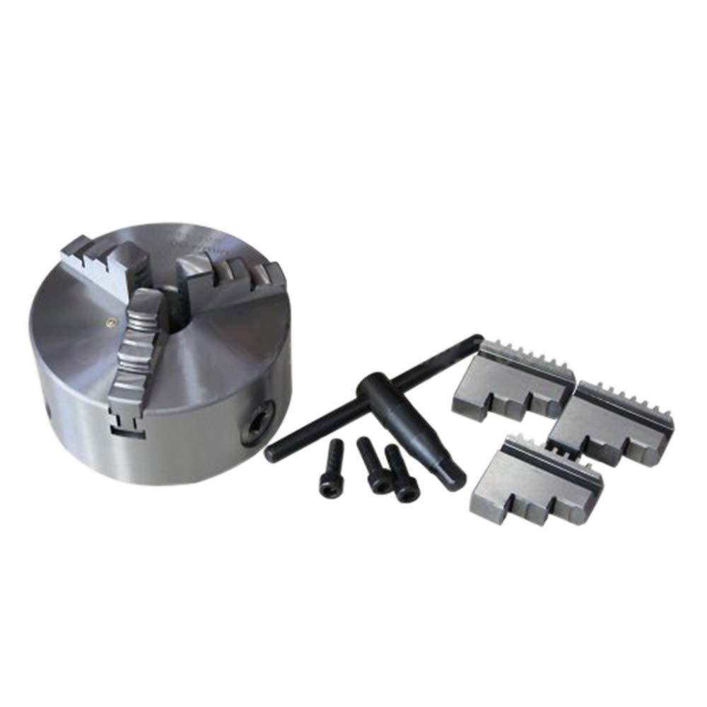 Mandrino autocentrante per tornio serie K11 diametro 125mm a 3 griffe 105212 Merry Tools