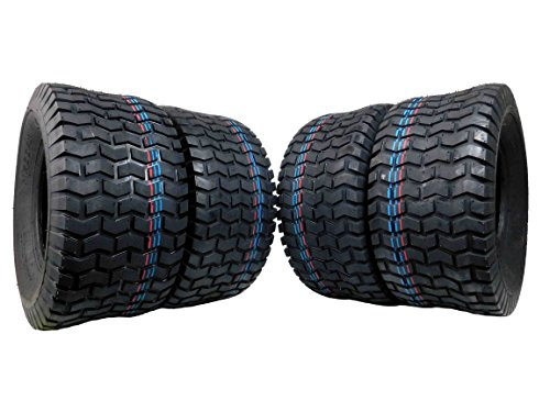 Tire 4 Set MASSFX New Leading Golf Cart Tire 18x8.5-8 MO18858 4PLY 5mm Tread by MASSFX