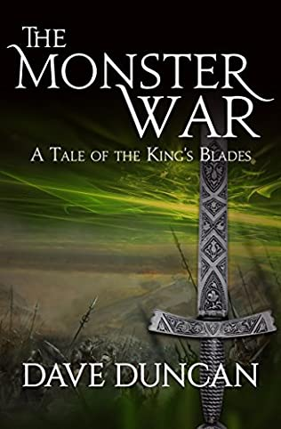 book cover of The Monster War