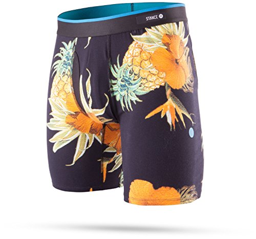 New Stance Men's Paradiso Combed Cotton Boxer Brief Cotton Fitted - Surfers Stores Paradise