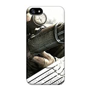 Ultra Slim Fit Hard SpecialUandMe Case Cover Specially Made For Iphone 5/5s- Sniper Elite V2