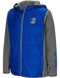 Youth Creighton Bluejays Full Zip Puff Jacket
