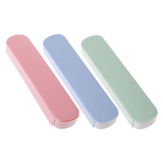 ZOOMY Vajilla Caja de Almacenamiento Cubiertos Estuche de Viaje para Palillos de papelería Cuchara Tenedor - Verde: Amazon.es: Hogar