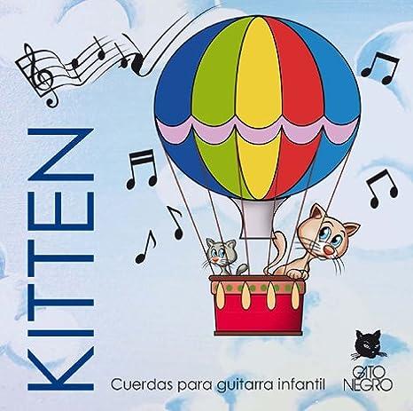 Juego de cuerdas Gato Negro Kitten. Para guitarra clásica infantil