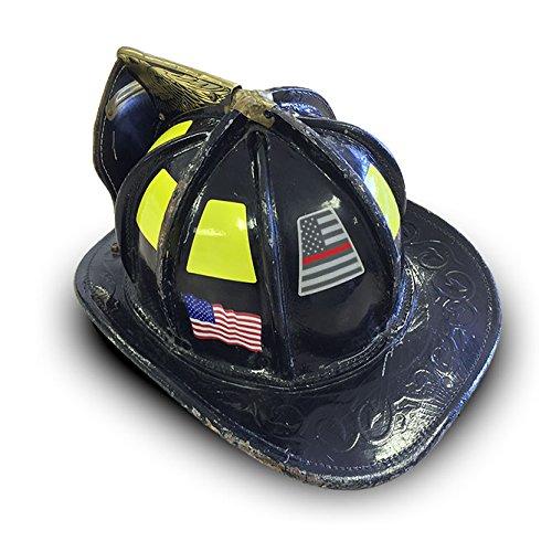 Reflective Firefighter Helmet Tetrahedron Fire Helmet Stickers - Fire helmet decalsexclusive reflective helmet tetrahedron